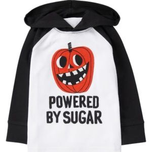 NWT Gymboree Pumpkin hooded shirt